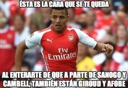 Enlace a No lo va a tener nada fácil Alexis en el Arsenal
