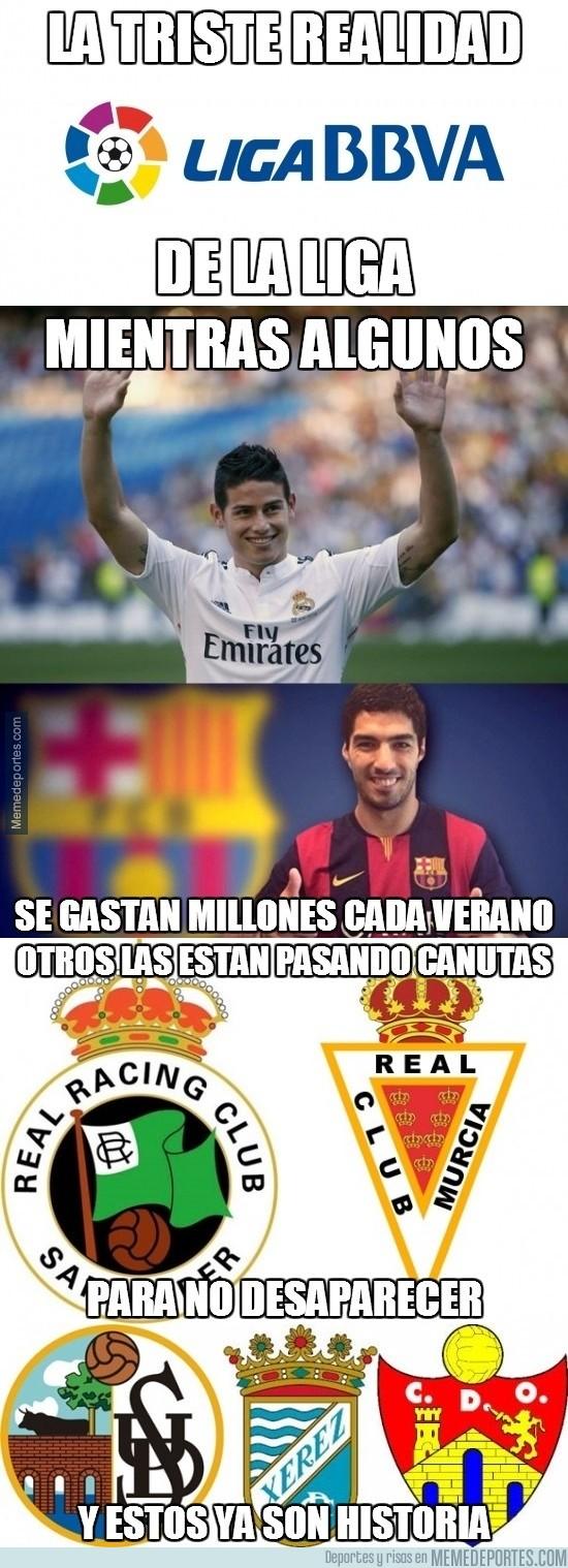 369910 - La triste realidad de la Liga española
