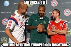 Enlace a Guardiola y Ribéry convenciendo a Henry para volver a fútbol europeo
