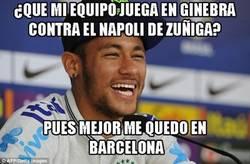 Enlace a Neymar prefiere quedarse en Barcelona y salvar su espalda