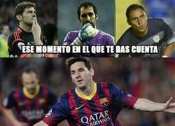 Enlace a A Messi le da igual quien se ponga de los tres