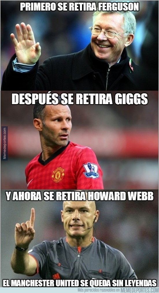 370399 - Howard Webb se retira
