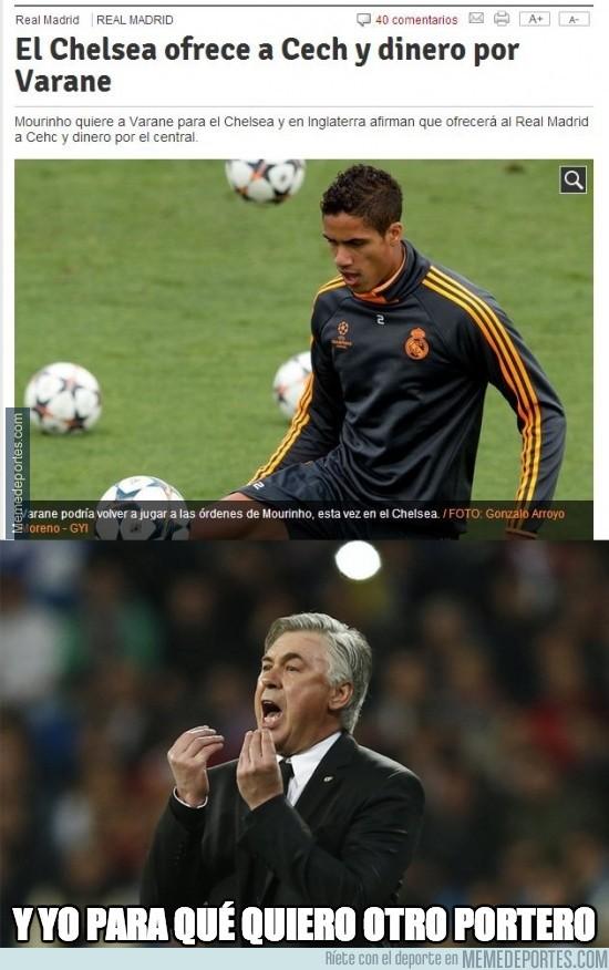 370775 - Sí, Chelsea, lo que le falta al Madrid son porteros