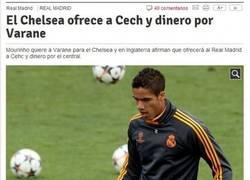 Enlace a Sí, Chelsea, lo que le falta al Madrid son porteros