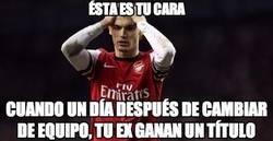 Enlace a ¿Y si Vermaelen era el gafe del Arsenal?