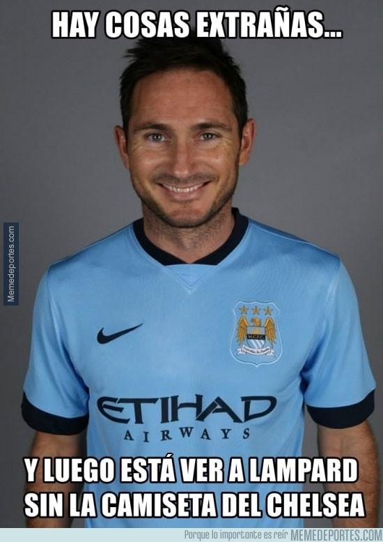 372097 - Lampard ya posa con la camiseta del City