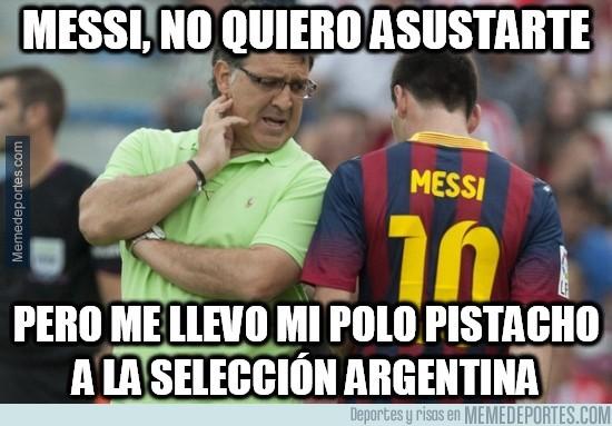 372329 - Messi, no quiero asustarte