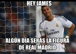 Enlace a CR7 vs James, empieza el pique