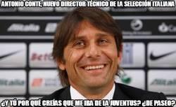 Enlace a Antonio Conte, nuevo seleccionador italiano