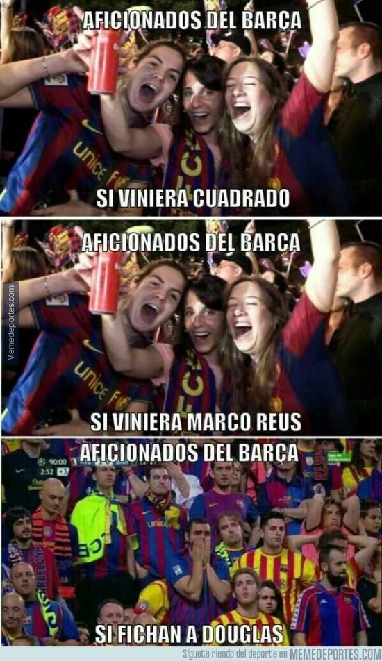 374353 - Nivel de ilusiones de los aficionados del Barça