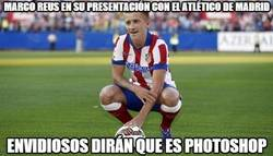 Enlace a ¡PRIMICIA! Marco Reus es presentado con el Atlético de Madrid
