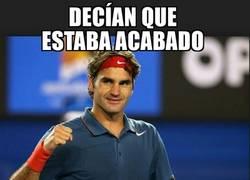 Enlace a Federer, el maestro inmortal