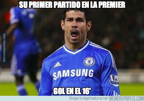 374827 - Diego Costa no hará nada en la Premier, decían