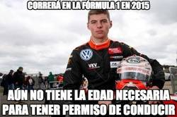 Enlace a Max Verstappen, un caso insólito en la F1