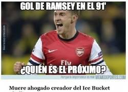 Enlace a Ramsey lo vuelve a hacer, aunque no sea super-famoso, lo es durante estos días