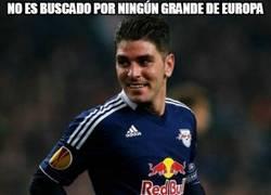 Enlace a No podía faltar Jonathan Soriano a su cita con el gol, llevando al Salzburgo a la Champions
