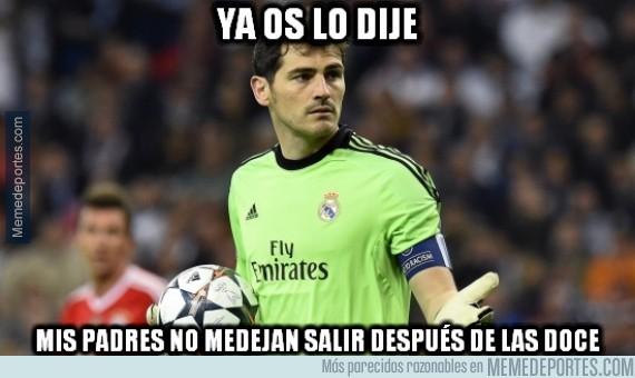 375417 - Iker Casillas explica por qué no salió en el córner del gol