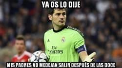 Enlace a Iker Casillas explica por qué no salió en el córner del gol