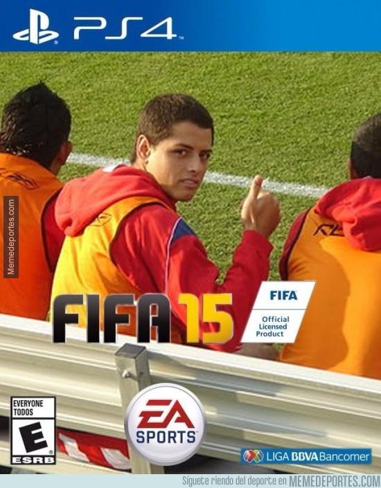 375577 - La nueva portada del FIFA 15 en México