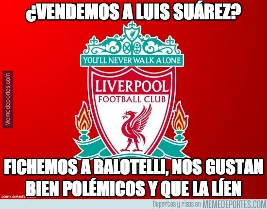 375813 - El Liverpool detrás de Balotelli