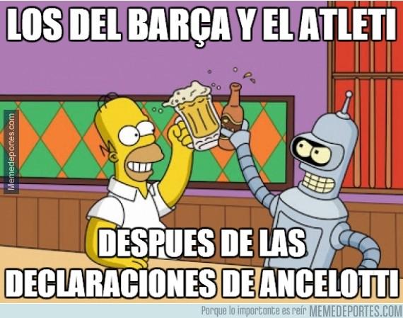 375815 - Ancelotti: Di María ha pedido irse y ha rechazado una oferta de renovación