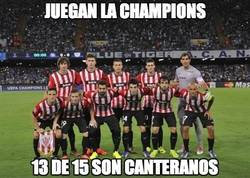Enlace a Juegan la Champions
