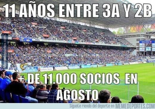 376067 - El Oviedo, 11 años en tercera y 2ºB