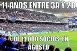 Enlace a El Oviedo, 11 años en tercera y 2ºB
