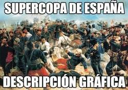Enlace a Menuda batalla campal la Supercopa de España