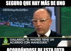 Enlace a Mandzukic al Madrid, claro que sí