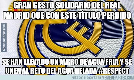 376286 - Gran gesto solidario del Real Madrid que con este título perdido por @torren__