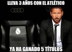 Enlace a Lleva 3 años con el Atlético