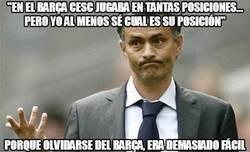 Enlace a Mou sigue sin olvidarse del Barça
