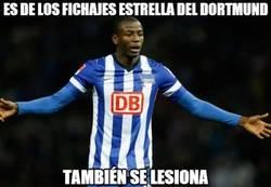Enlace a Adrián Ramos se une al club de lesionados del Dortmund