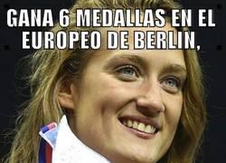 Enlace a Mireia Belmonte se sale en el Europeo de Berlín