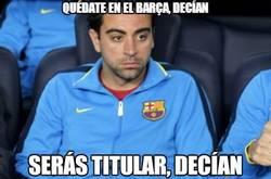 Enlace a Quédate en el Barça, decían