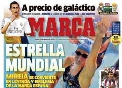 Enlace a @marca, ¿te encuentras bien? Mireia Belmonte se ha ganado la portada de MARCA de hoy