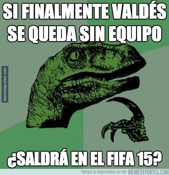 377418 - Si finalmente Valdés se queda sin equipo...