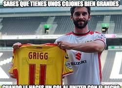 Enlace a Grigg, el héroe de anoche