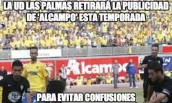 Enlace a La UD Las Palmas retirará la publicidad de 'Alcampo' esta temporada