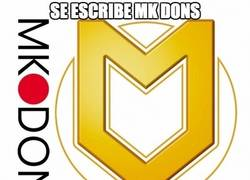 Enlace a Se escribe MK Dons