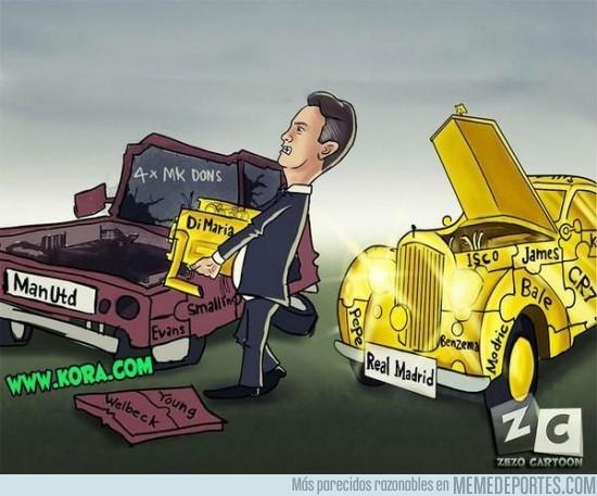 378593 - Van Gaal quitándole el motor al Real Madrid