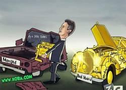 Enlace a Van Gaal quitándole el motor al Real Madrid