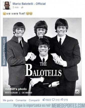 378711 - Balotelli sigue con sus locuras, esta vez en las redes sociales