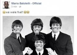 Enlace a Balotelli sigue con sus locuras, esta vez en las redes sociales