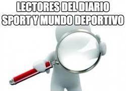 Enlace a Lectores del diario Sport y Mundo Deportivo