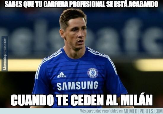 379601 - Fernando Torres cedido en el Milan