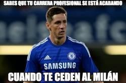 Enlace a Fernando Torres cedido en el Milan