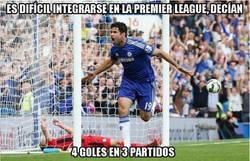 Enlace a Diego Costa empieza fuerte en la Premier League