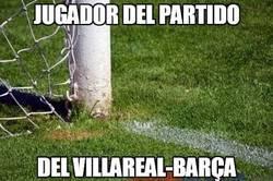 Enlace a Éste es el jugador del partido del Villarreal-Barça